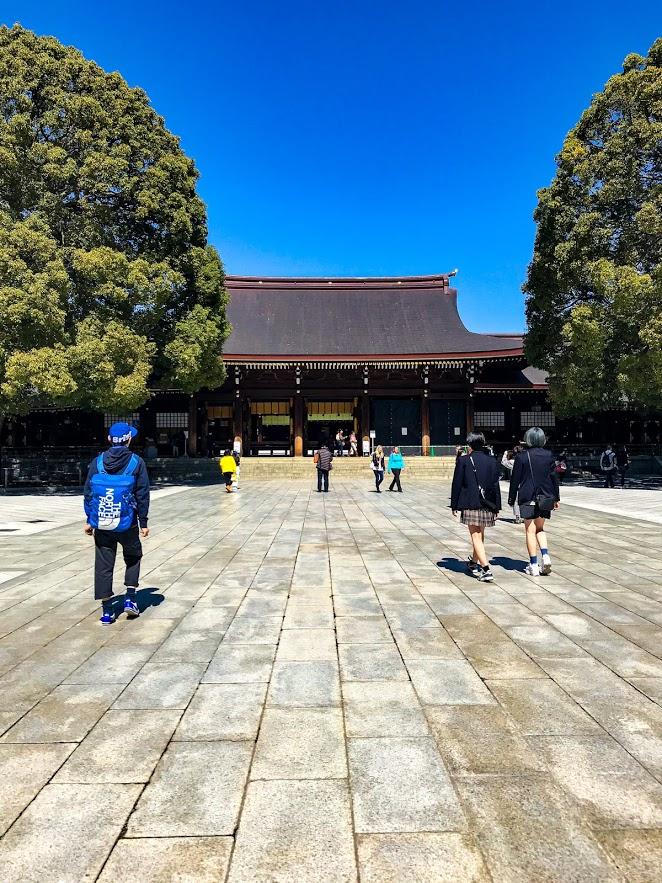 """Храм """"Мейджи"""" в Токио"""