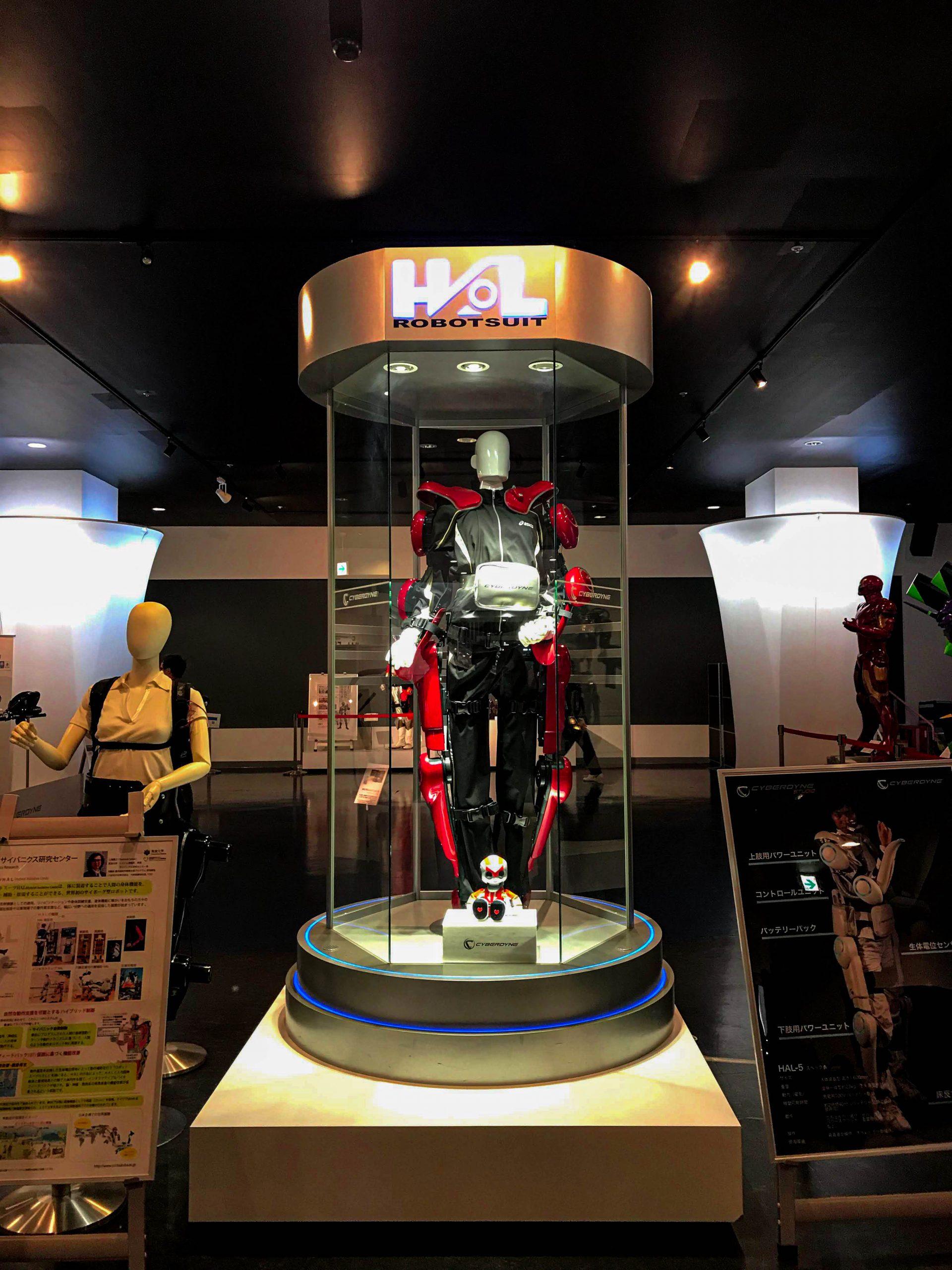 Robot Suit HAL на Cyberdyne